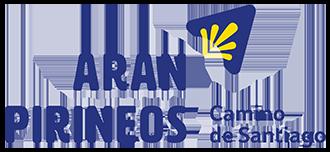 Camino de Santiago Arán Pirineos Logo